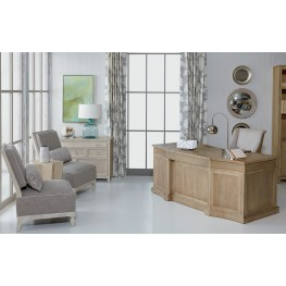 Roseline Natural Brown Nora Home Office Set