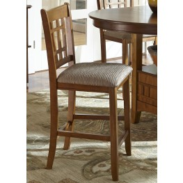 Santa Rosa 24 Inch Upholstered Barstool Set of 2