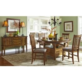 Santa Rosa Extendable Dining Room Set