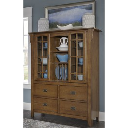 Santa Rosa Brown Display Cabinet