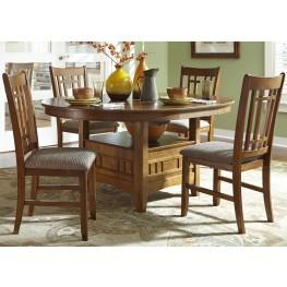 Santa Rosa Extendable Pedestal Table - Liberty Furniture
