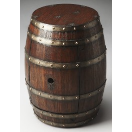 Calumet Mountain Lodge Barrel Table