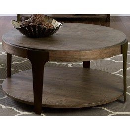 Sapphire Lakes Bark Round Cocktail Table
