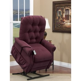 Aaron Berry Tufted Wide Three Way Reclining Lift Chair