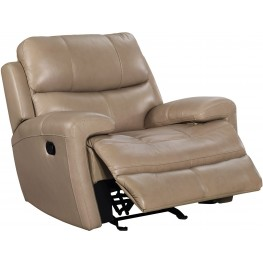 Boulevard Taupe Glider Recliner