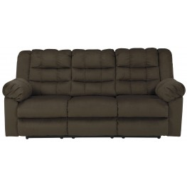 Mort Umber Reclining Sofa