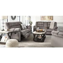 Mort Charcoal Reclining Living Room Set