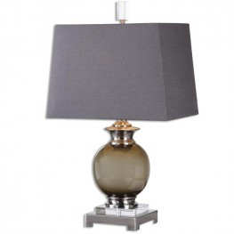 Callias Olive-Gray Table Lamp