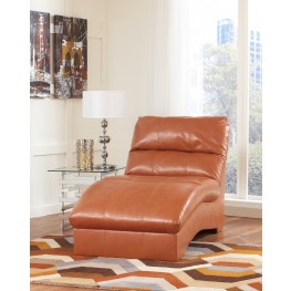 Paulie DuraBlend Orange Chaise