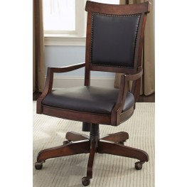 Brayton Manor Cognac Jr Executive Desk Chair