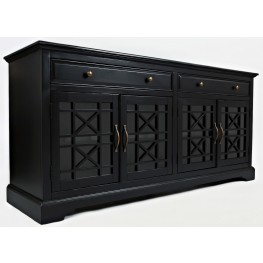 "Craftsman Antique Black 70"" Media Unit"