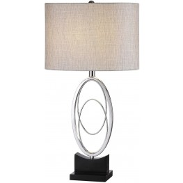 Savant Polished Nickel Table Lamp
