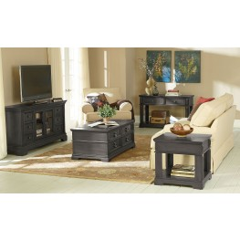 Garrison Soft Grey Occasional Table Set