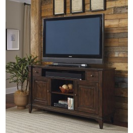Harbor Ridge Rustic Peppercorn TV Console