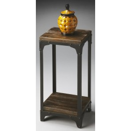 2874120 Industrial Chic Mountain Lodge Pedestal Stand