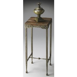 2887120 Industrial Chic Mountain Lodge Pedestal Stand