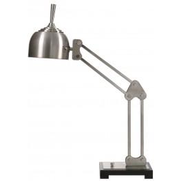 Amado Brushed Nickel Desk Lamp