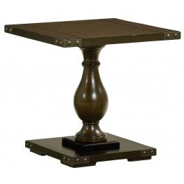 Pierwood Square End Table