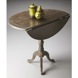 Theodore Masterpiece Dusty Trail Drop-Leaf Hall Table