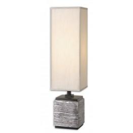 Ciriaco Antiqued Silver Buffet Lamp