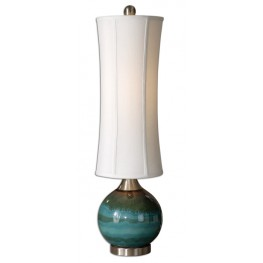 Atherton Blue Buffet Lamp