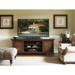 Bal Harbor Rich Sienna Montego Bay Media Console