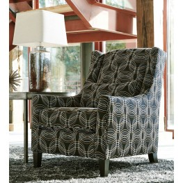 Faraday Metallic Accent Chair