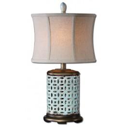 Rosignano Blue Buffet Lamp