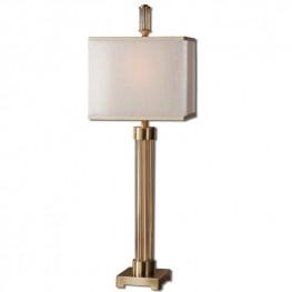 Moraira Amber Glass Buffet Lamp