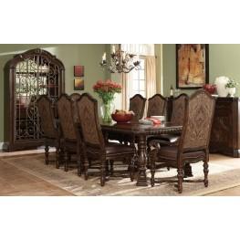Valencia Trestle Extendible Dining Room Set