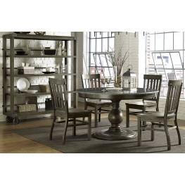 Karlin Large Round Dining Room Set