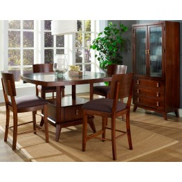 Perspective Counter Height Dining Room Set