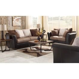 Masoli Mocha Living Room Set