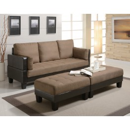 Fulton Sofa Bed With 2 Ottomans
