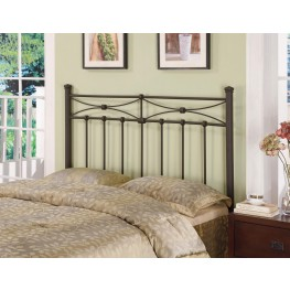 Black Queen/Full Headboard 300187QF