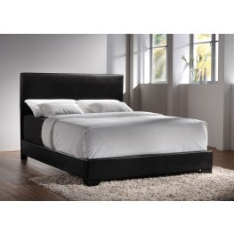 Conner Black Full Platform Bed