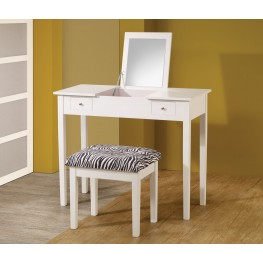 300285 White 2-Piece Vanity Set