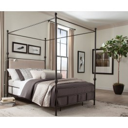 Lanchester Metal Canopy Bedroom Set