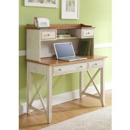 Ocean Isle Writing Desk with Hutch