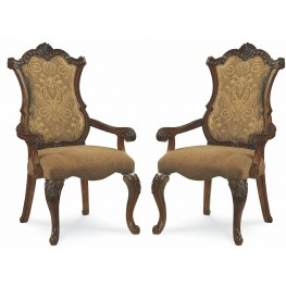 Pemberleigh Upholstered Arm Chair Set of 2