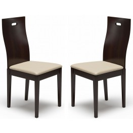 Beechwood District 2 Coffee Dining Chair Set of 2