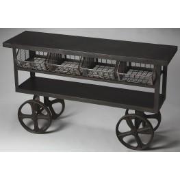 Antietam Industrial Chic Metalworks Trolley Buffet