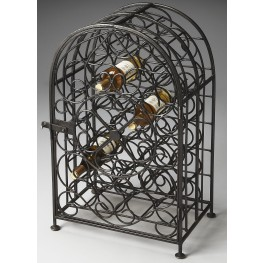 Clybourn Industrial Chic Metalworks Wine Rack