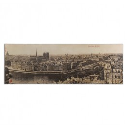 Panorama De Paris Vintage Art