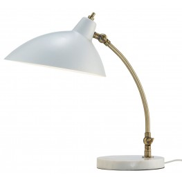 Peggy White Desk Lamp
