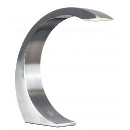 Slide Brushed Steel Desk Lamp