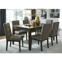 Belden Place Coffee Bean Rectangular Leg Dining Room Set