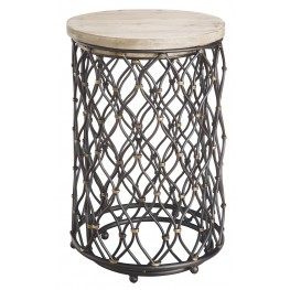 Two Piece Nested Round Accent Table 32100