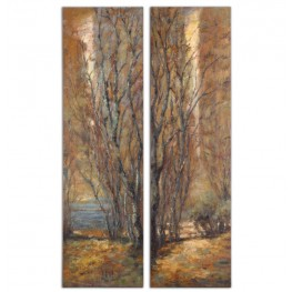 Tree Panels Set of 2