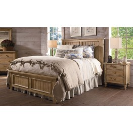 Homecoming Vintage Pine Panel Bedroom Set